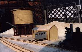 Handcar-Shed with watertank